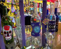 Glass Bottle Incense Burners