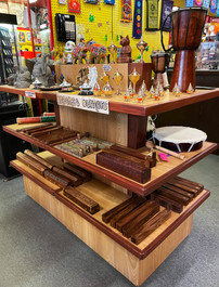 Gifts, Musical Instruments, Incense Burners, Statues
