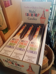 Color Drip Candles