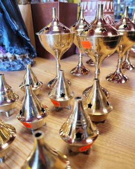 Brass Cone Incense Burners