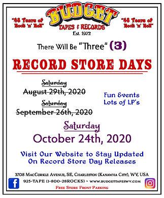 RSD Aug-Sept-Oct 2020 - October Highligh