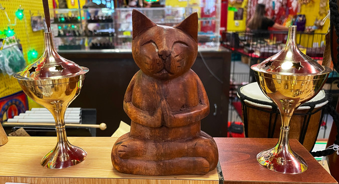 Incense Burners, Figurines, Gifts, & More