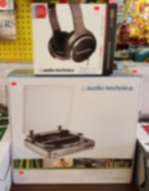 Audio-Technica LP-60 Turntable & Headphone Set