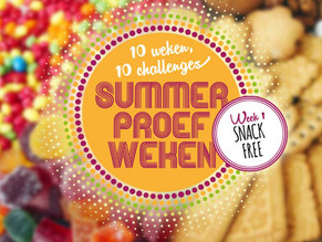 Summer Proef Weken: Snack Free Week