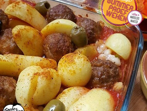 Makkelijke Maaltijd: Ovenschotel met Spaanse gehaktballetjes