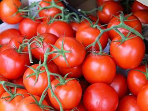 Tomaten zijn goed tegen rimpels....