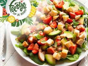 Feestje op je bord salade