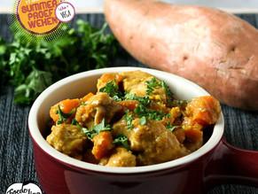 Vega week: Zwarte bonen en zoete aardappel curry