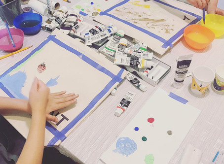 6月2日(日) 自然から学ぶART こどものお絵かき教室