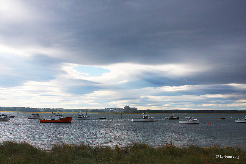 Boats in the Harbor - Seabrook, NH 1
