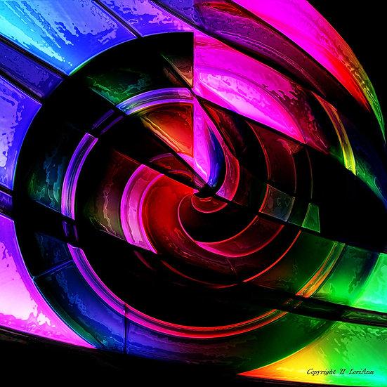 Illuminated Swirl