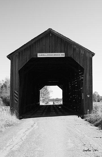 Driving Scenes - Covered Bridge