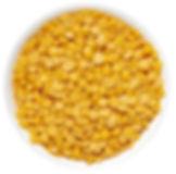 Hrách žlutý půlený