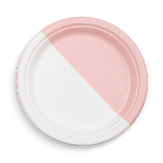 Pink Paper Plate