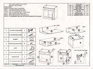 kitchen base cabinets assembly instructions
