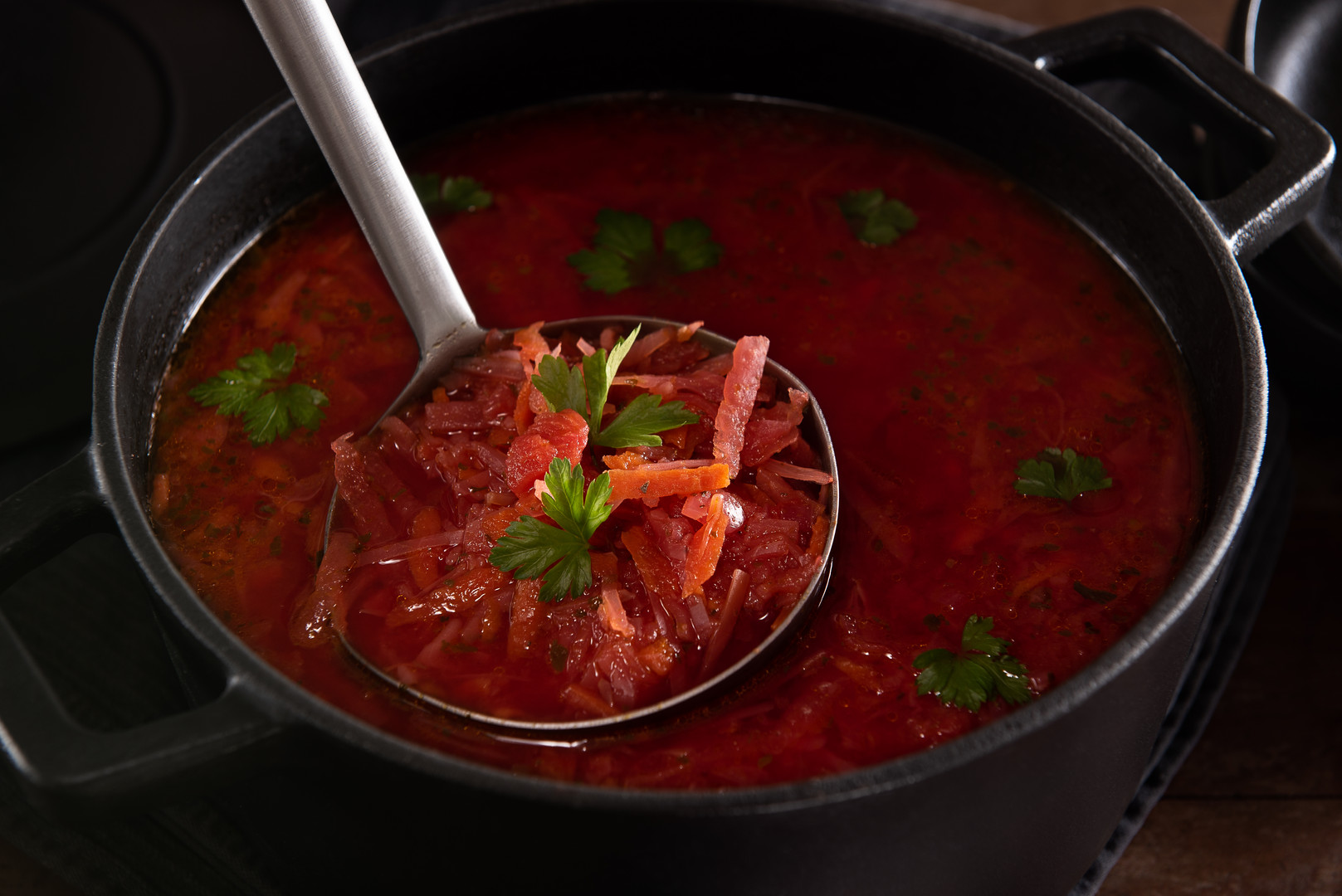 Borch russian soup