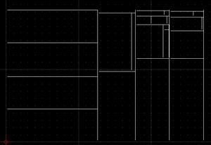 Plano de corte em .DXF para serras e guilhotinas