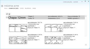 plano de corte para máquinas CNC