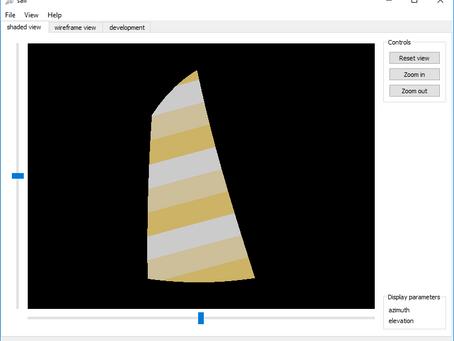 Vela para Barco - Software CAD