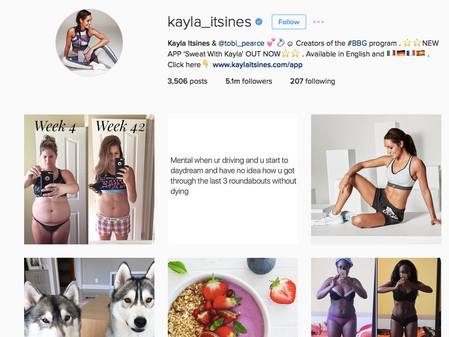 Why you shouldn't support Kayla Itsines