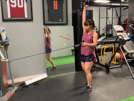 Exercise of the Week: Contralateral Row with KB Swing