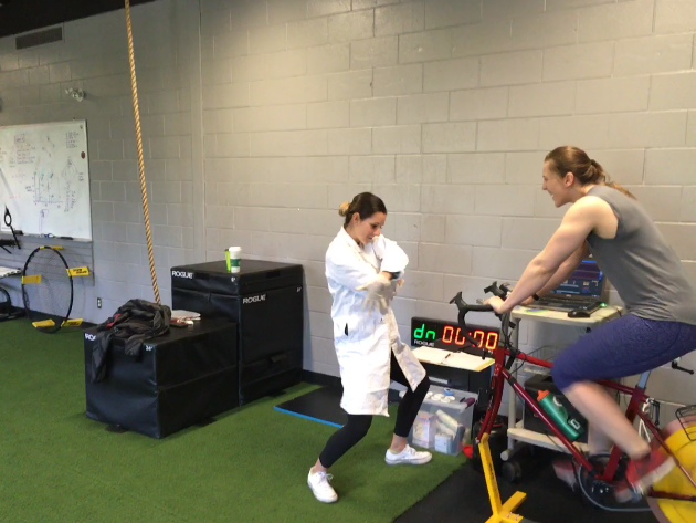 Lactate threshold testing - With Carla as your physiologist