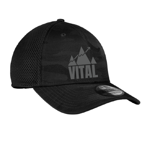 Black Camo Performance Hat