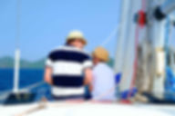 SAILINGBOAT GREECE FATHER AND SON PERSON