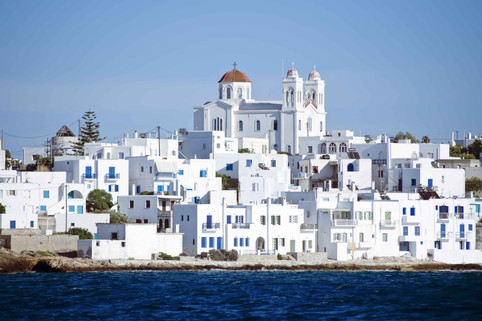 paros naousa greece aegean cyclades sea