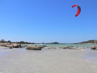 kite surfing aegean sport adventure gree