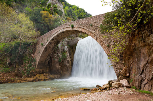 thessaly bridge road trip adventure gree
