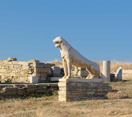 delos lion aegean cyclades museum greece