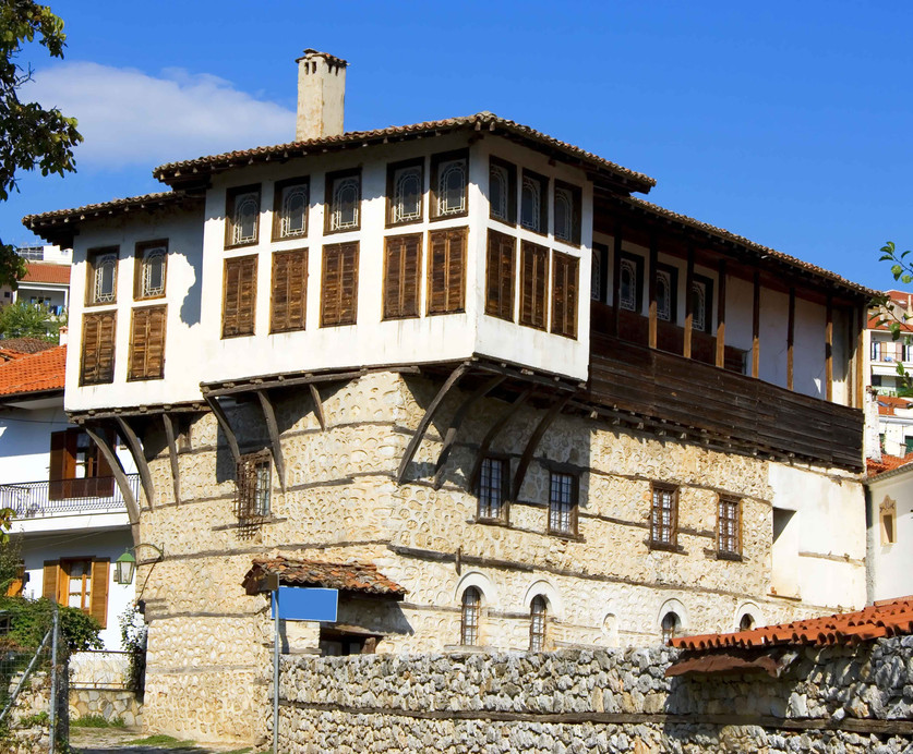 kastoria greece traditional architecture