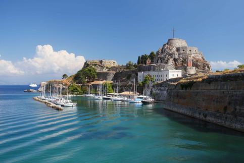 corfu town sailboat harbour ionian copy.