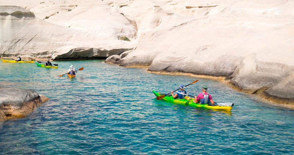 Island Adventures in Greece