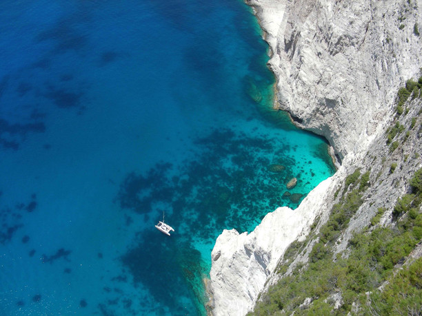 ionian sea greece rocks sail boat copy.j