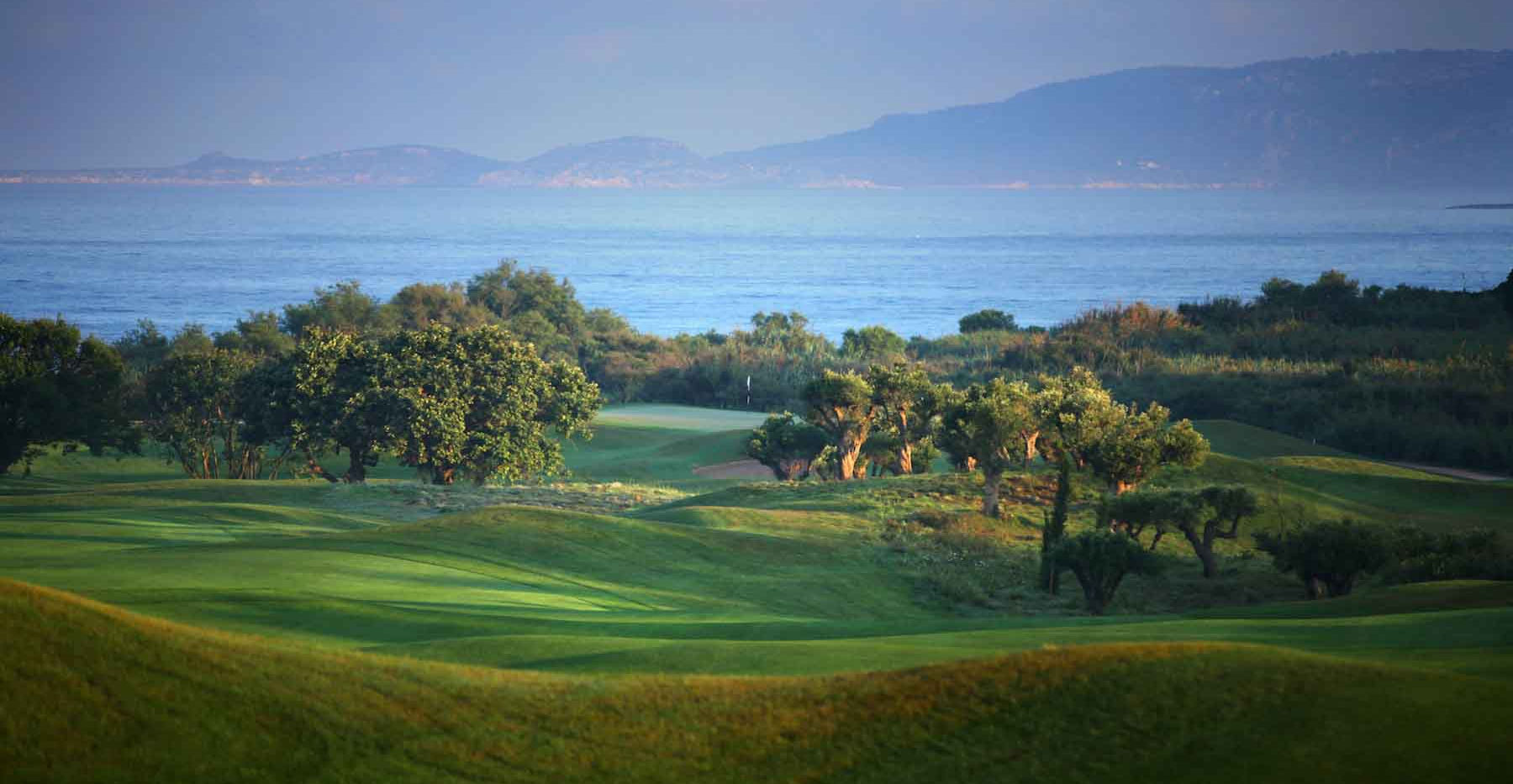 Teeing Off in Greece