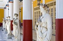 corfu muses museum ionian greece achille