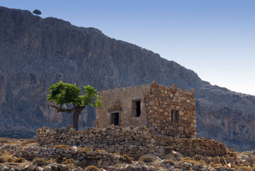 stone house crete greece mountain copy.j