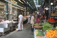 thessaloniki kapani market northern gree