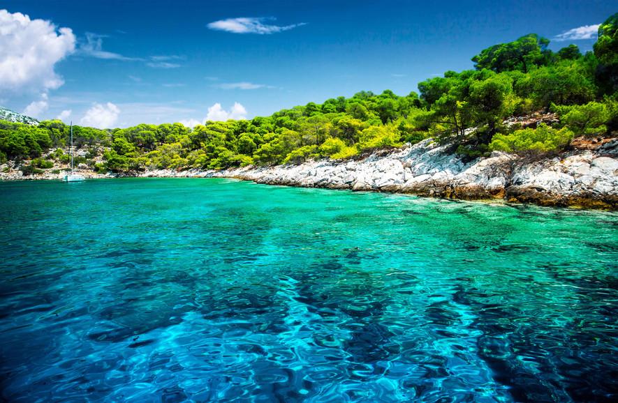 sporades central greece sea panormos sai