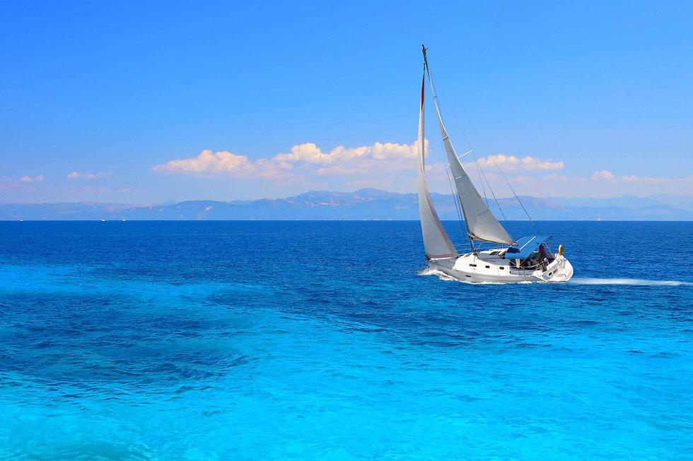 sail race regatta sea aegean ionian gree