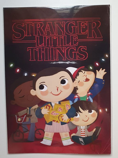 Stranger Little Things card and autographed by Joey Spiotto