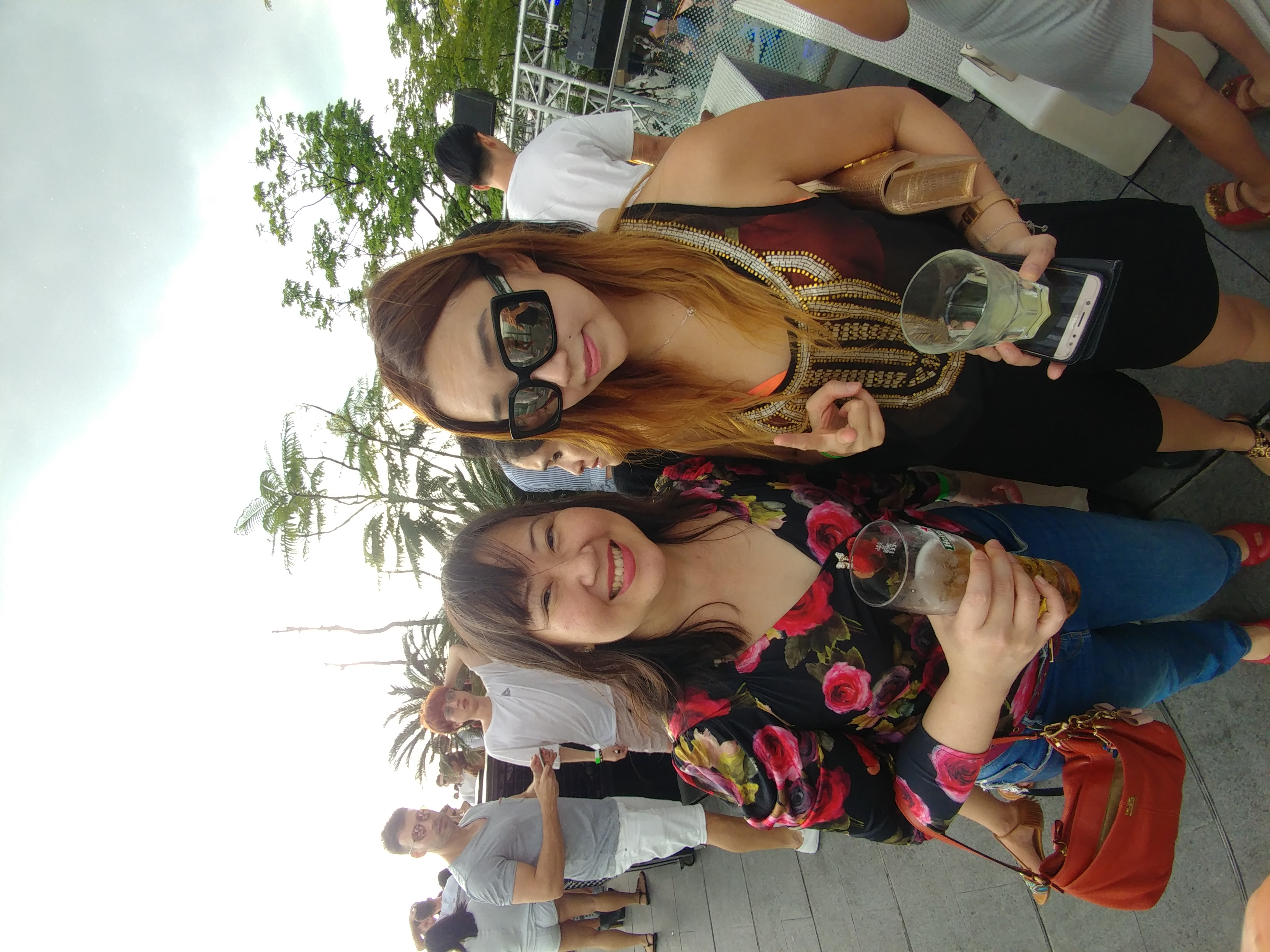 sharon vu and dj Nicole Chen