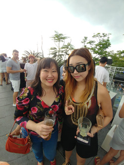 sharon vu and dj Nicole Chen