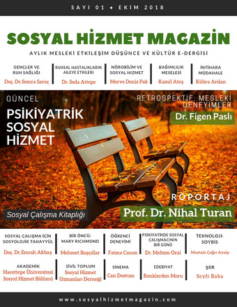 Sosyal Hizmet Magazin Ekim 2018