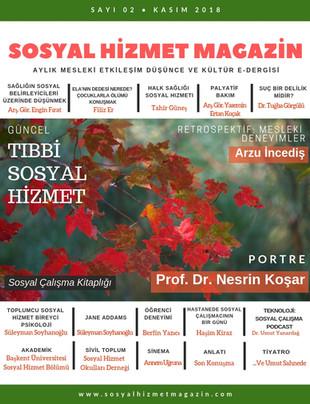 Sosyal Hizmet Magazin Kasım 2018