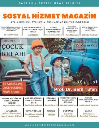 Sosyal Hizmet Magazin ARALIK-OCAK 2018/19