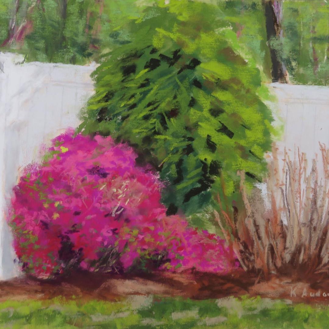Joyful Spring by Karen Audoin