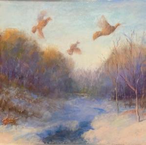 Christmas Morning on the Center Street Marsh